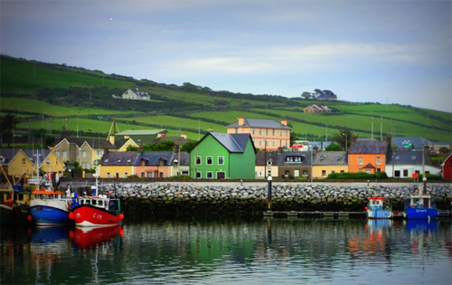 Town of Dingle, Ireland